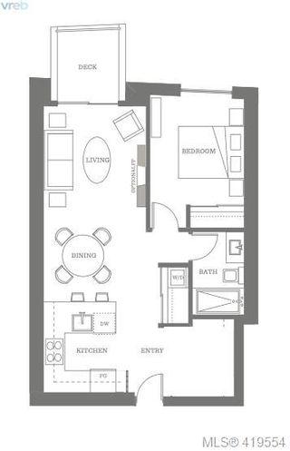 Photo 10: 212 1033 Cook St in VICTORIA: Vi Downtown Condo Apartment for sale (Victoria)  : MLS®# 830442