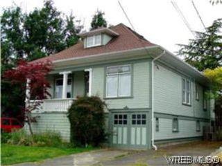Photo 1: 1734 Davie St in VICTORIA: Vi Jubilee Triplex for sale (Victoria)  : MLS®# 587654