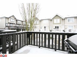 "Photo 9: 14 20176 68TH Avenue in Langley: Willoughby Heights Townhouse for sale in ""STEEPLE CHASE"" : MLS®# F1201333"