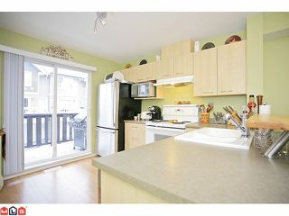 "Photo 5: 14 20176 68TH Avenue in Langley: Willoughby Heights Townhouse for sale in ""STEEPLE CHASE"" : MLS®# F1201333"