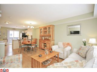 """Photo 3: 14 20176 68TH Avenue in Langley: Willoughby Heights Townhouse for sale in """"STEEPLE CHASE"""" : MLS®# F1201333"""