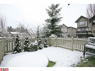 "Photo 10: 14 20176 68TH Avenue in Langley: Willoughby Heights Townhouse for sale in ""STEEPLE CHASE"" : MLS®# F1201333"