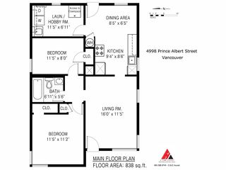 Photo 11: 4998 PRINCE ALBERT Street in Vancouver: Fraser VE House for sale (Vancouver East)  : MLS®# V1057034