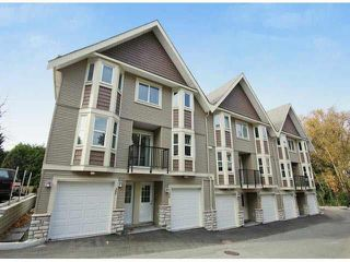 "Photo 1: 25 33313 GEORGE FERGUSON Way in Abbotsford: Central Abbotsford Townhouse for sale in ""CEDAR LANE"" : MLS®# F1443018"