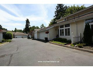 "Photo 1: 13 20761 TELEGRAPH Trail in Langley: Walnut Grove Townhouse for sale in ""WOODBRIDGE"" : MLS®# F1444209"