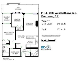 """Photo 20: PH11 1503 W 65TH Avenue in Vancouver: S.W. Marine Condo for sale in """"The Soho"""" (Vancouver West)  : MLS®# R2059584"""