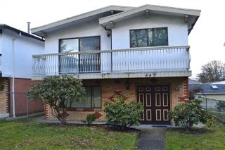 Photo 1: 443 E 20TH Avenue in Vancouver: Fraser VE House for sale (Vancouver East)  : MLS®# R2141243