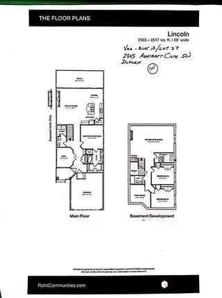 Photo 29: 2305 ASHCRAFT CAPE SW in Edmonton: Zone 55 House Half Duplex for sale : MLS®# E4143999