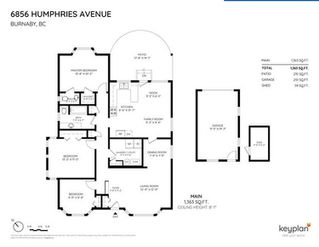 Photo 3: 6856 HUMPHRIES Avenue in Burnaby: Highgate House for sale (Burnaby South)  : MLS®# R2394536