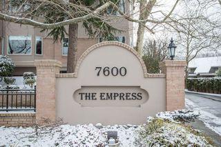 """Photo 2: 108 7600 MOFFATT Road in Richmond: Brighouse South Condo for sale in """"THE EMPRESS"""" : MLS®# R2432780"""