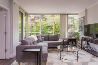 """Photo 2: 113 1483 W 7TH Avenue in Vancouver: Fairview VW Condo for sale in """"Verona of Portico"""" (Vancouver West)  : MLS®# R2458283"""