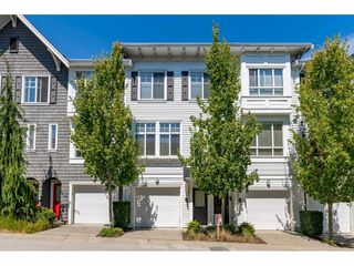 "Photo 1: 55 14955 60 Avenue in Surrey: Sullivan Station Townhouse for sale in ""Cambridge Park"" : MLS®# R2480611"