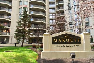 Main Photo: 506 1108 6 Avenue SW in Calgary: Downtown West End Apartment for sale : MLS®# A1057522