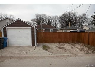 Photo 19: 98 Hill Street in WINNIPEG: St Boniface Residential for sale (South East Winnipeg)  : MLS®# 1427525