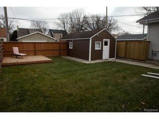 Photo 17: 98 Hill Street in WINNIPEG: St Boniface Residential for sale (South East Winnipeg)  : MLS®# 1427525