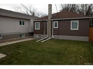 Photo 20: 98 Hill Street in WINNIPEG: St Boniface Residential for sale (South East Winnipeg)  : MLS®# 1427525