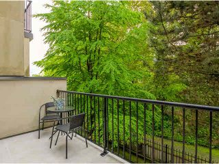 """Photo 14: 19 1561 BOOTH Avenue in Coquitlam: Maillardville Townhouse for sale in """"THE COURCELLES"""" : MLS®# V1121240"""