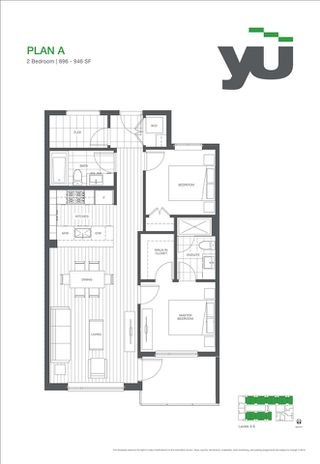 """Photo 6: 516 5955 BIRNEY Avenue in Vancouver: University VW Condo for sale in """"Yu"""" (Vancouver West)  : MLS®# R2027904"""