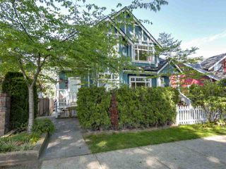Photo 1: 1825 W 11TH Avenue in Vancouver: Kitsilano Townhouse for sale (Vancouver West)  : MLS®# R2061107