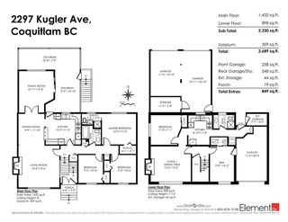 Photo 20: 2297 KUGLER Avenue in Coquitlam: Central Coquitlam House for sale : MLS®# R2230628