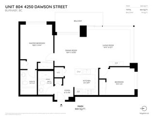 """Photo 20: 804 4250 DAWSON Street in Burnaby: Brentwood Park Condo for sale in """"OMA 2"""" (Burnaby North)  : MLS®# R2254216"""