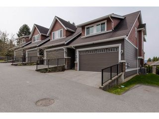 "Photo 1: 9 46808 HUDSON Road in Chilliwack: Promontory Townhouse for sale in ""Cedar Springs"" (Sardis)  : MLS®# R2258017"
