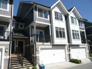 "Photo 1: 13 7374 194A Street in Surrey: Clayton Townhouse for sale in ""ASHER"" (Cloverdale)  : MLS®# R2315813"