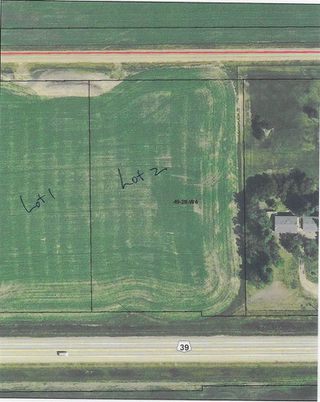 Photo 1: RR 281 HWY 39: Rural Leduc County Rural Land/Vacant Lot for sale : MLS®# E4179482