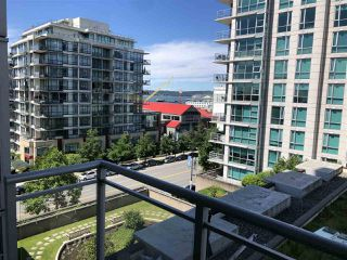 "Main Photo: 707 188 E ESPLANADE Avenue in North Vancouver: Lower Lonsdale Condo for sale in ""Esplanade at The Pier"" : MLS®# R2474020"