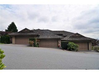 "Photo 1: 62 2979 PANORAMA Drive in Coquitlam: Westwood Plateau Townhouse for sale in ""DEER CREST"" : MLS®# V1044506"