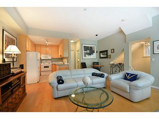 """Photo 2: 1803 NAPIER Street in Vancouver: Grandview VE Townhouse for sale in """"Salsbury Heights"""" (Vancouver East)  : MLS®# V1046669"""