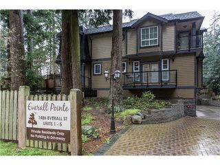 "Photo 20: 5 1486 EVERALL Street: White Rock Townhouse for sale in ""EVERALL POINTE"" (South Surrey White Rock)  : MLS®# F1436476"