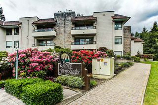 "Photo 1: 201 1150 DUFFERIN Street in Coquitlam: Eagle Ridge CQ Condo for sale in ""GLEN EAGLES"" : MLS®# R2072453"