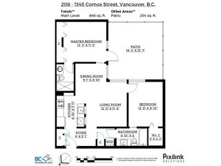 Photo 1: 208 1345 COMOX Street in Vancouver: West End VW Condo for sale (Vancouver West)  : MLS®# R2156986