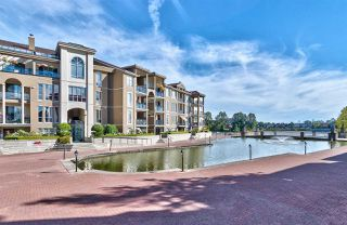 "Photo 1: 111 2 RENAISSANCE Square in New Westminster: Quay Condo for sale in ""THE LIDO"" : MLS®# R2202214"