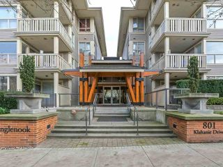 Main Photo: 428 801 KLAHANIE Drive in Port Moody: Port Moody Centre Condo for sale : MLS®# R2324116