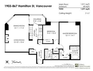 """Photo 17: 1903 867 HAMILTON Street in Vancouver: Downtown VW Condo for sale in """"Jardine's Lookout"""" (Vancouver West)  : MLS®# R2331796"""