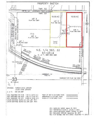 Photo 3: 23301 TWP RD 520: Rural Strathcona County Rural Land/Vacant Lot for sale : MLS®# E4140351