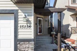 Main Photo: 15136 33 Street in Edmonton: Zone 35 House Half Duplex for sale : MLS®# E4148414
