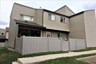 Photo 1: 1774 Lakewood Road S in Edmonton: Zone 29 Townhouse for sale : MLS®# E4156843