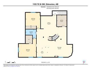 Photo 30: 1103 70 Street in Edmonton: Zone 53 House for sale : MLS®# E4179313