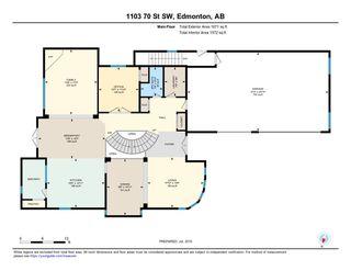 Photo 28: 1103 70 Street in Edmonton: Zone 53 House for sale : MLS®# E4179313