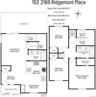 Photo 10: 102 2169 Ridgemont Pl in : Na Diver Lake Row/Townhouse for sale (Nanaimo)  : MLS®# 850692