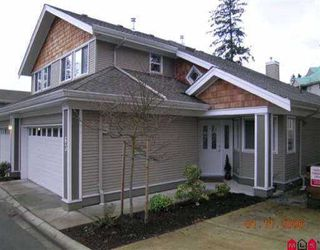 """Photo 1: 63 15133 29A AV in White Rock: King George Corridor Townhouse for sale in """"Stonewoods Phase 3"""" (South Surrey White Rock)  : MLS®# F2600663"""
