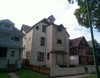 Main Photo: 612 Mulvey Ave.: Residential for sale (Fort Rouge)  : MLS®# 2413572