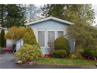 Photo 1: SAANICHTON MOBILE HOME = SAANICHTON REAL ESTATE Sold With Ann Watley! Call (250) 656-0131