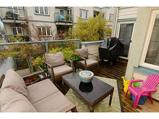 "Photo 13: 213 643 W 7TH Avenue in Vancouver: Fairview VW Townhouse for sale in ""THE COURTYARDS"" (Vancouver West)  : MLS®# V1059098"