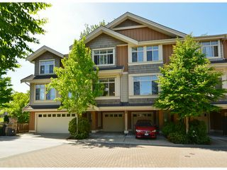 "Photo 1: 2 15151 34TH Avenue in Surrey: Morgan Creek Townhouse for sale in ""Sereno"" (South Surrey White Rock)  : MLS®# F1411685"
