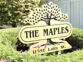 "Photo 20: 19 11950 LAITY Street in Maple Ridge: West Central Townhouse for sale in ""THE MAPLES"" : MLS®# V1115727"