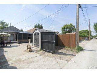 Photo 20: 281 Ferry Road in WINNIPEG: St James Residential for sale (West Winnipeg)  : MLS®# 1514020